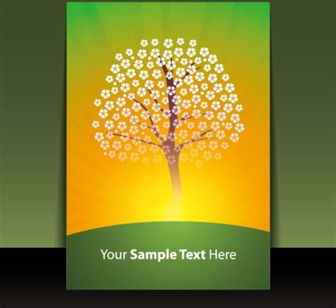 Cover Page Design Template Free Vector Download (18,236