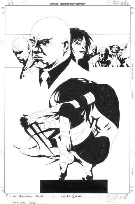 ELEKTRA by Jae Lee | Comic art, Comic book artists, Artist