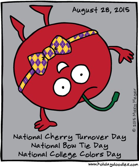 national college colors day doodles 187 august 28 2015 national cherry