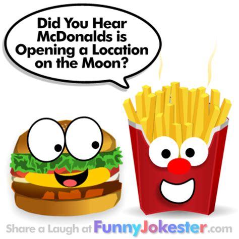 cuisine humour mcdonalds hamburger joke fast food jokes