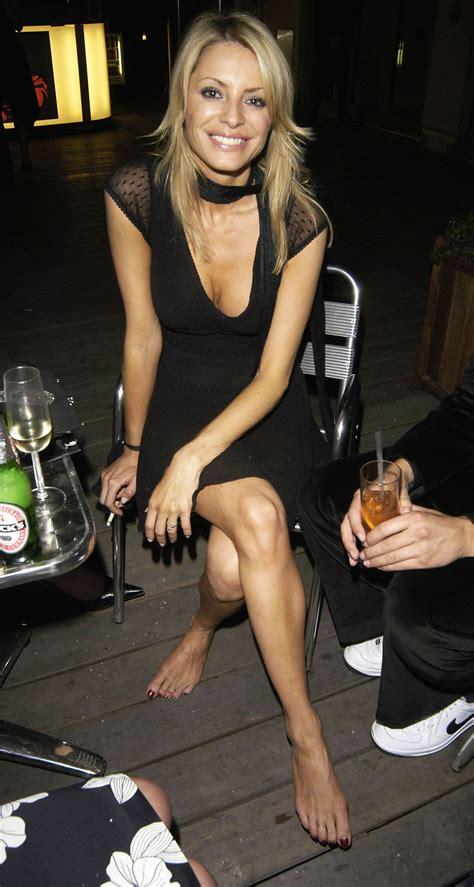 Tess Daly's Feet