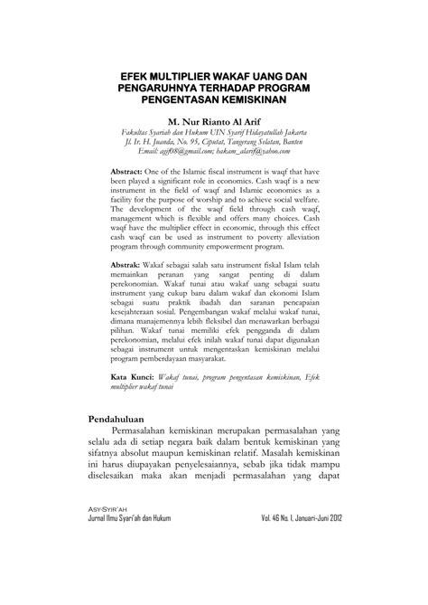 Contoh Resume Jurnal Zakat - SuratMenyurat.net