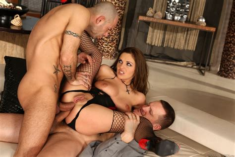 Dominica Phoenix Enjoys Two Cocks At The Same Time 2 Of 2