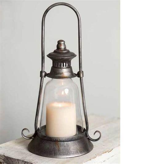 Half Gallon Mason Jar Butler Lantern   Jute & Burlap