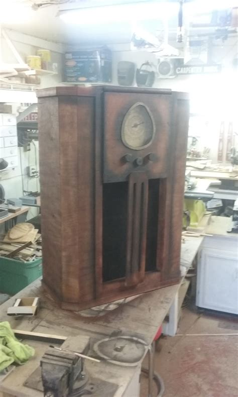 antique console radio prop ryobi nation projects
