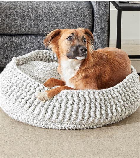 Crochet Dog Bone Bed Patterns Patterns Kid Dog Beds And