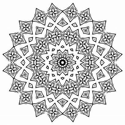 Mandala Flower Coloring