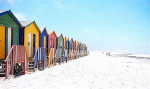 Houses, On, The, Beach, In, Cape, Town, South, Africa, Image, -, Free, Stock, Photo