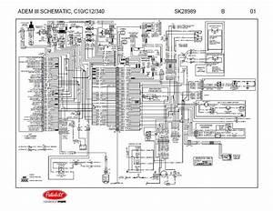 C7 Caterpillar Engine Wiring Diagrams