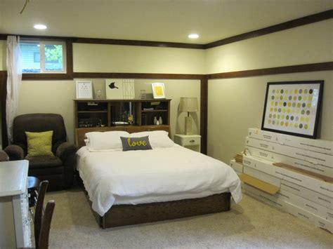 amenagement sous sol en chambre chambre à coucher idées pour un sous sol idées de