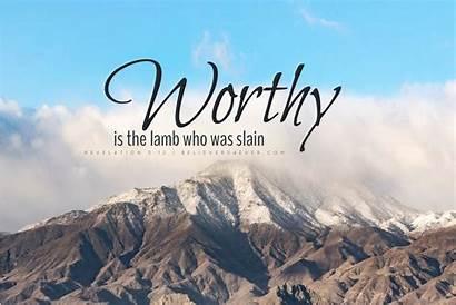 Christian Worthy Lamb Ashamed Am Desktop Wallpapers