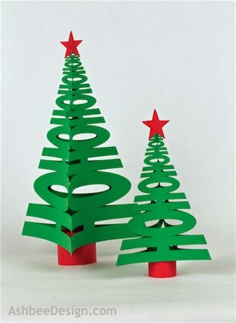 ashbee design silhouette projects 3d hohoho tree