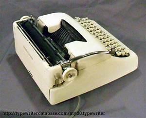 1959 Smith Corona Electric Portable Typewriter  5te183849 Twdb