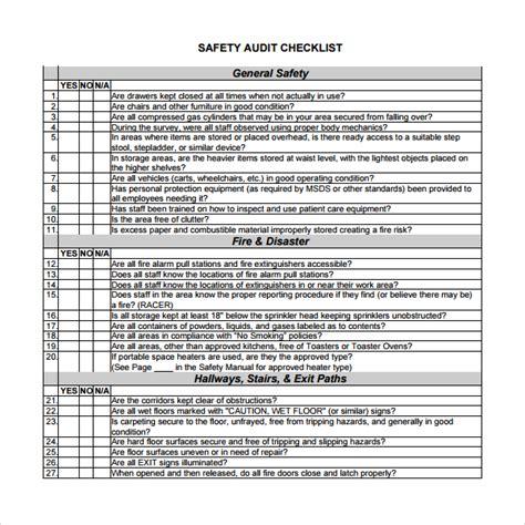 13+ Audit Checklist Templates | Sample Templates