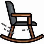 Chair Rocking Icon Icons