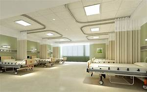 Ward interior design rendering