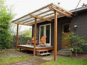 Shelter Sleek Backyard Pergolas Pinterest Cour Et