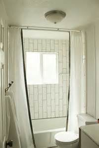 design your bathroom how to install a ceiling mounted shower curtain