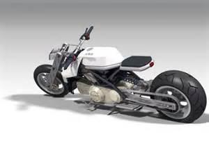 Futuristic Motorcycle Concept