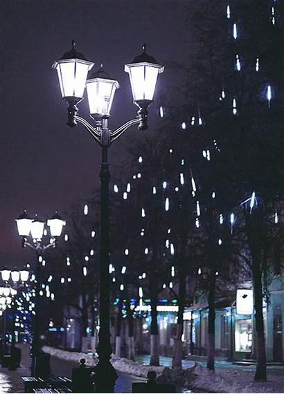 Lights Lantern Night Winter Cinemagraph Magic Kitchen