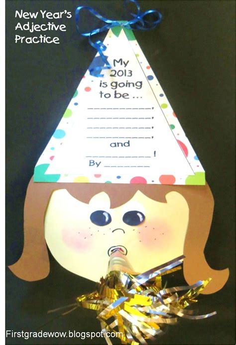 grade wow happy new year a early 731 | happy new year adjective craft