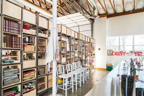craft hosts workshops  open crafting hours  austin