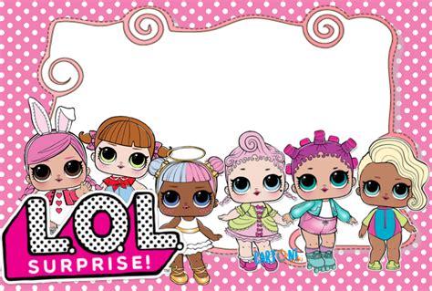 Inviti Lol Surprise Feste Bambine