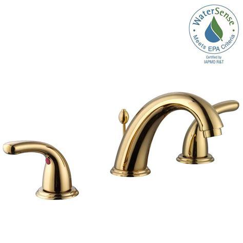 glacier kitchen faucet glacier bay builders 8 in widespread 2 handle high arc