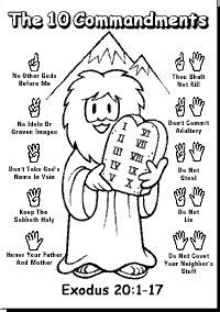 HD wallpapers kids coloring sheet free keep my commandment