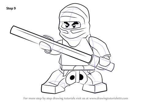 learn   draw cole  ninjago ninjago step  step
