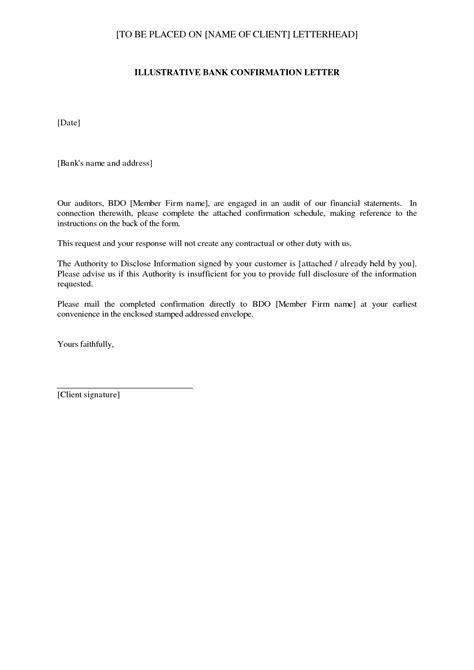 accounts receivable confirmation letter