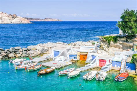 Milos Island A Beautiful And Romantic Island In Greece