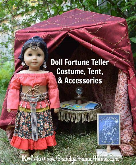 fortune teller costume tent  dolls