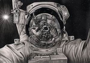 'The Final Frontier' graphite drawing by Pen-Tacular ...