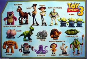 Disney Toy Story Characters Names