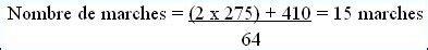 formule de l escalier comment calculer un escalier