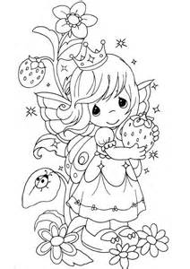 Precious Moments Princess Coloring Pages