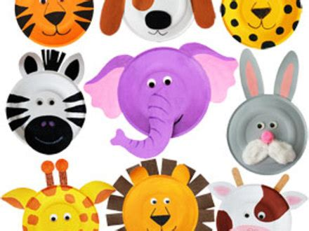 40 animal paper plate crafts for the kids paper plate