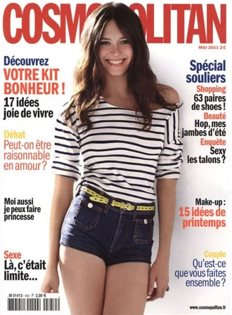 entertainment news sian abbott covers cosmopolitan magazine may 2011 france