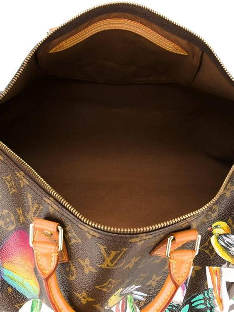 customised louis vuitton vintage dripping love bag