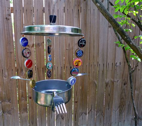 Bird Feeder Made From Recycled Materials