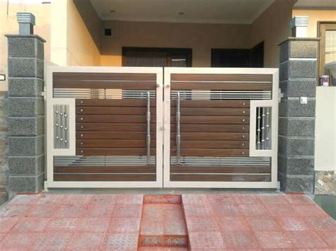 modern gate design front designs  homes google search