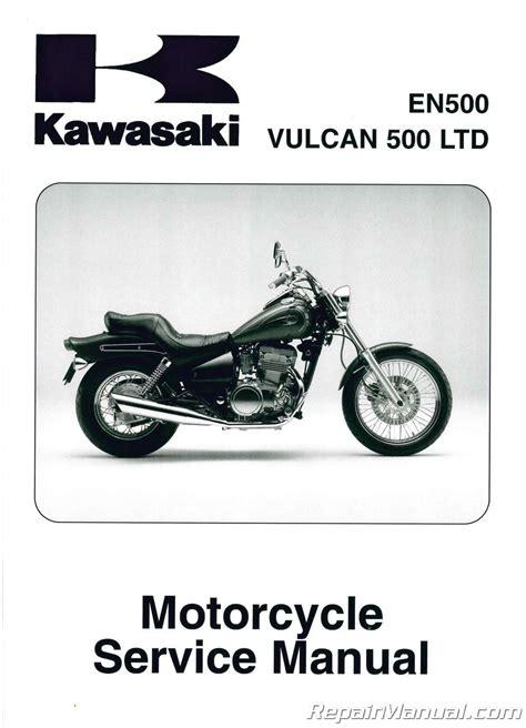 Kawasaki Motorcycle Service 1996 2009 kawasaki en500c vulcan ltd motorcycle service manual