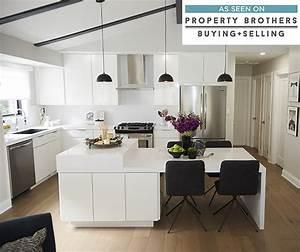 White High Gloss Kitchen Cabinets - Diamond