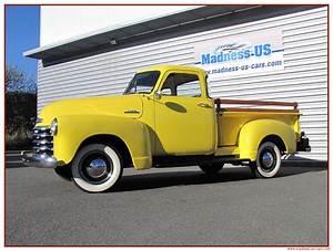 Madness Us Car : chevrolet 3100 deluxe 1953 ~ Medecine-chirurgie-esthetiques.com Avis de Voitures