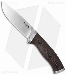 "Buck Selkirk Fixed Blade Knife Micarta (4.625"" Satin ..."