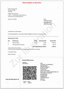 Begleichung Der Rechnung : spezifizierungen zur neuen qr rechnung run my accounts ~ Themetempest.com Abrechnung