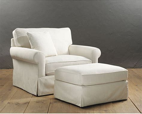 baldwin upholstered club chair and ottoman traditional
