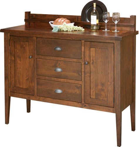 jacoby  drawer sideboard amish sideboard solid wood sideboard