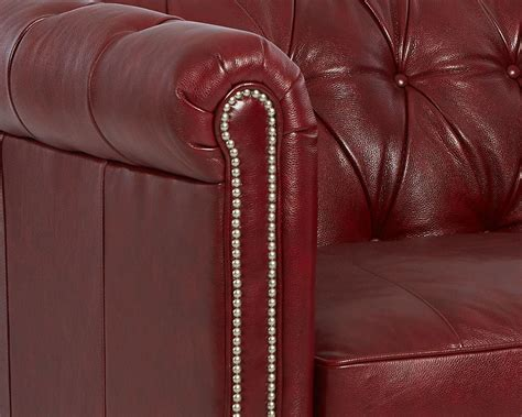Tufted Leather Chair And A Half by American Made Tufted Leather Chair And A Half Cl4440